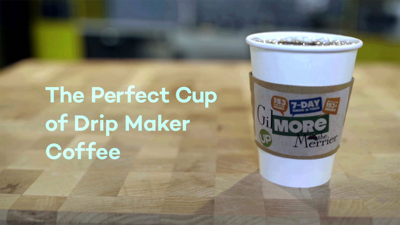 Gilmore Girls - Gilmore The Merrier – The Perfect Drip Maker Coffee