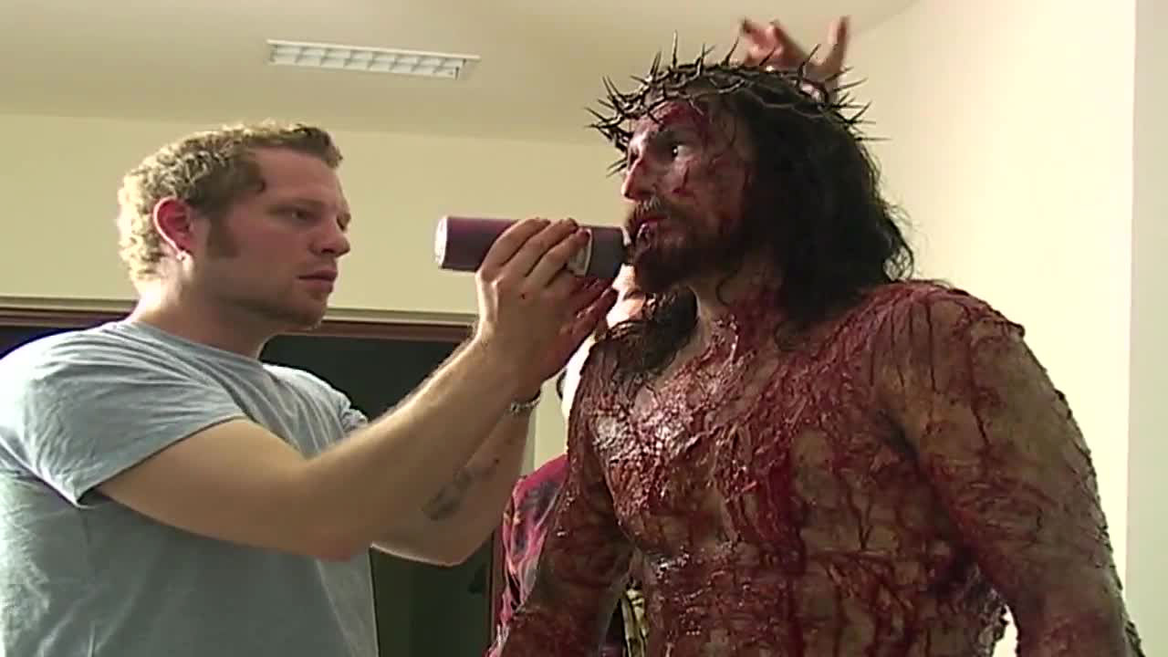 The Passion of the Christ Movie Behind-The-Scenes - Visual Effects