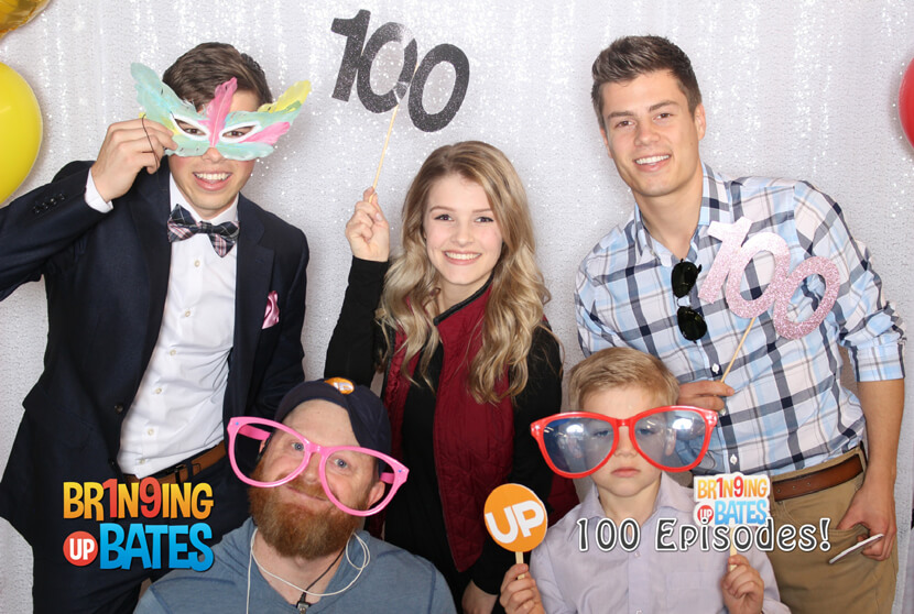 Trace Bates and Josie Bates and Lawson Bates and Judson Bates and Bringing Up Bates crew - Bringing Up Bates 100th Episode
