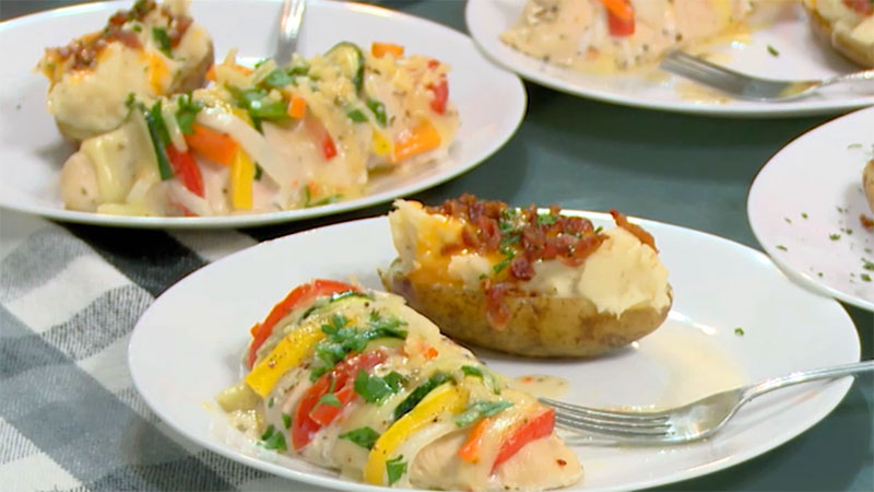Bringing Up Bates - Erin Bates Paine stuffed chicken recipe