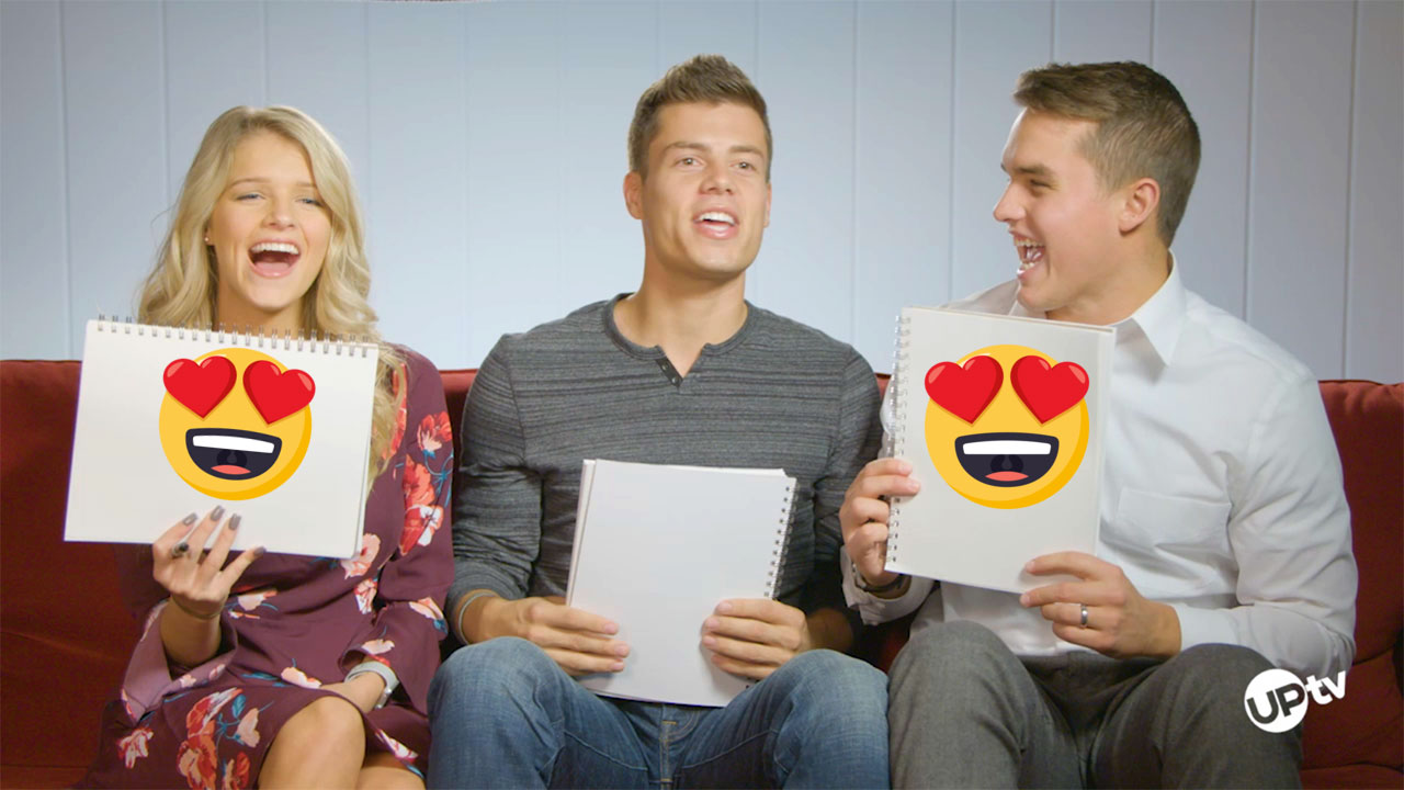 Bringing Up Bates - Bates Newlywed Game – In Sync