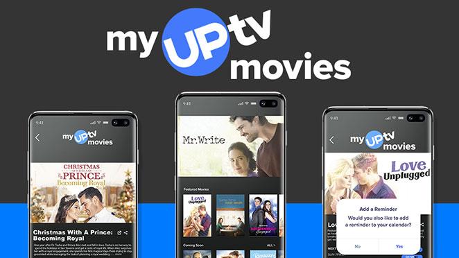 My UPtv Movies app