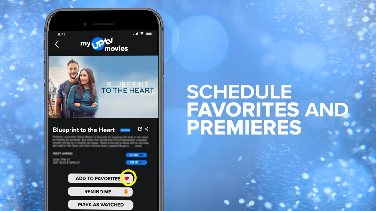 - Download the My UPtv Movies App
