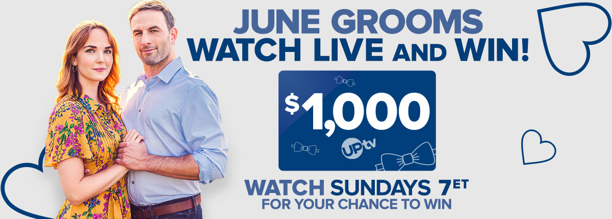 June Grooms Watch & Win $1,000 gift card sweepstakes